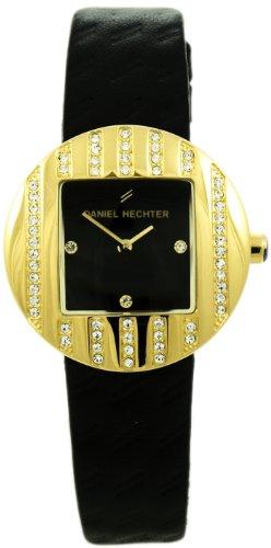 Daniel Hechter Damen Armbanduhr Analog Quarz Leder DHCV08320NZ