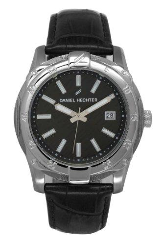 Daniel Hechter Herren Armbanduhr Analog Quarz Leder DHH 006 AA