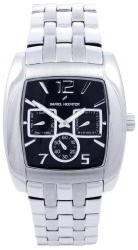 Daniel Hechter Herren Armbanduhr Analog Quarz Edelstahl DH01111NNA