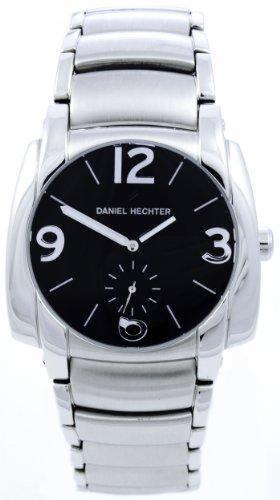 Daniel Hechter Herren Armbanduhr Analog Quarz Edelstahl DH04111NA