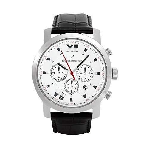 Daniel Hechter Herren-Armbanduhr Analog Quarz Leder DH02-1