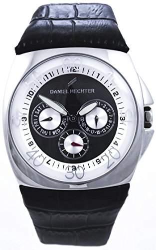 Daniel Hechter Herren-Armbanduhr Analog Quarz Leder DH03121NAN