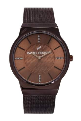 Daniel Hechter Damen-Armbanduhr Analog Quarz Edelstahl DHD 001-5UM