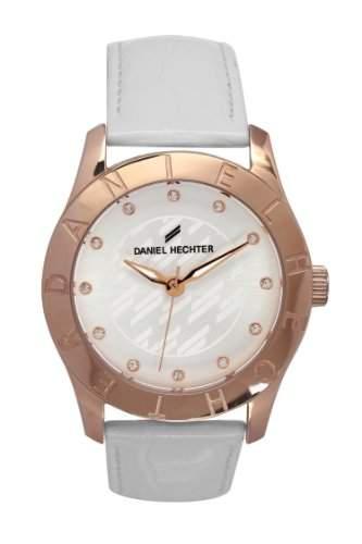 Daniel Hechter Damen-Armbanduhr Analog Quarz Leder DHD 004-2BB