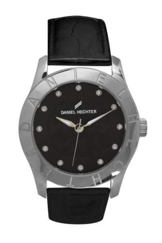 Daniel Hechter Damen-Armbanduhr Analog Quarz Leder DHD 004-AA