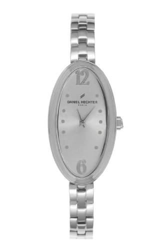 Daniel Hechter DHD FSM - 008Damen-Armbanduhr Alyce Quarz analog Stahl Silber