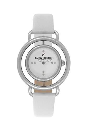 Daniel Hechter DHDBB - 011 Damen-Armbanduhr Lolla Quarz analog Leder Weiss