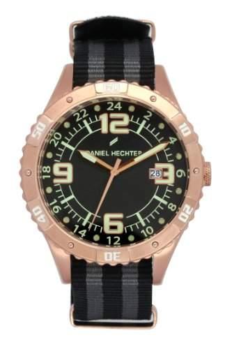 Daniel Hechter Herren-Armbanduhr Analog Quarz Textil DHH 002-2AA