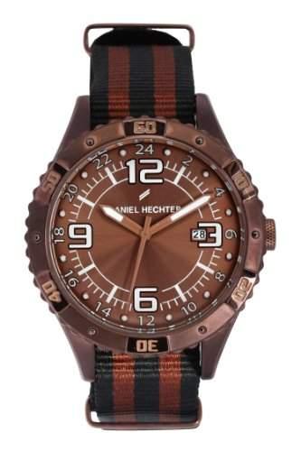 Daniel Hechter Herren-Armbanduhr Analog Quarz Textil DHH 002-5UU