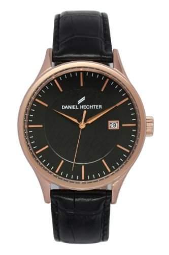 Daniel Hechter Herren-Armbanduhr Analog Quarz Leder DHH 003-2AA
