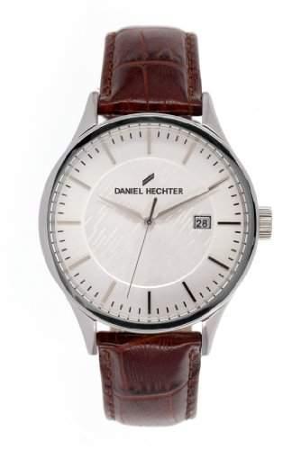 Daniel Hechter Herren-Armbanduhr Analog Quarz Leder DHH 003-FU