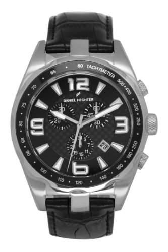 Daniel Hechter Herren-Armbanduhr Analog Quarz Leder DHH 005-AA