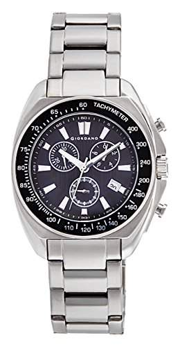 Q&Q Attractive Herren Uhr DA22J501 weiss mit Leder armband Analog