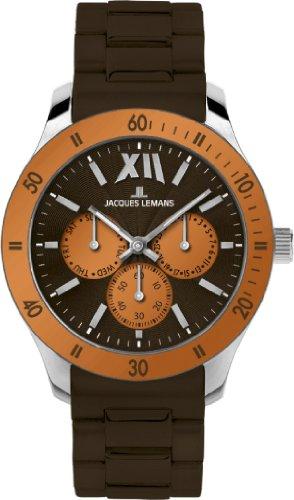 Jacques Lemans Sports Unisex Armbanduhr Rome Sports Analog Silikon 1 1691Q