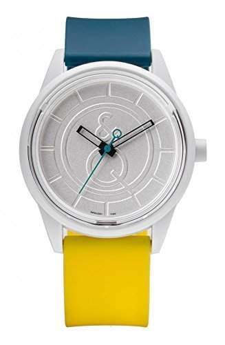 Q&q SmileSolar Armbanduhr Solaruhr Unisex 5Bar Wasserfest Ø 40mm PR00J006Y