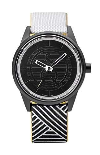 Q&q SmileSolar Armbanduhr Solaruhr Unisex 5Bar Wasserfest Ø 40mm PR00J012Y