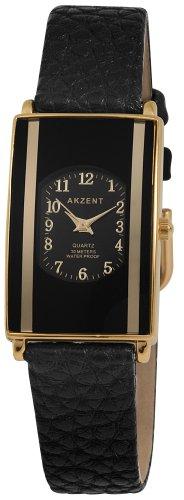 Akzent Damen Uhren mit Polyurethan Lederband SS7301000016