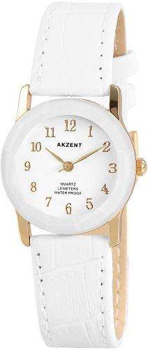 Akzent Damen Uhren mit Polyurethan Lederband SS7302000022