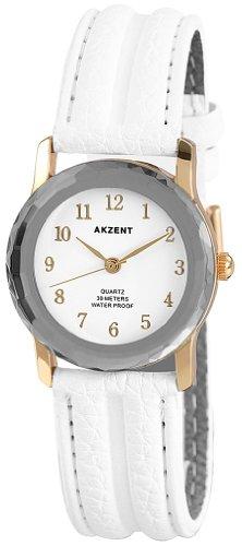Akzent Damen Uhren mit Polyurethan Lederband SS7302500013