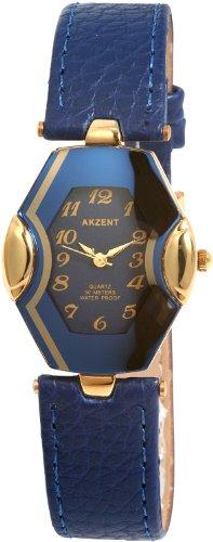 Akzent Damen Uhren mit Polyurethan Lederband SS7303000015