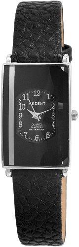 Akzent Damen Uhren mit Polyurethan Lederband SS7321000016