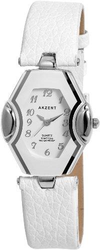 Akzent Damen Uhren mit Polyurethan Lederband SS7322000015