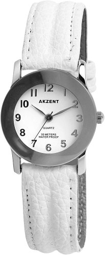 Akzent Damen Uhren mit Polyurethan Lederband SS7322000023