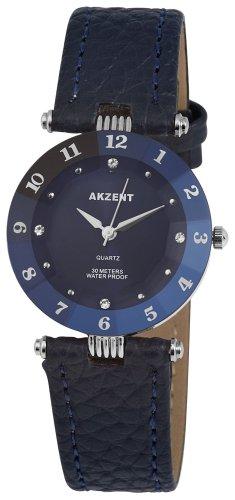 Akzent Damen Uhren mit Polyurethan Lederband SS7323000014
