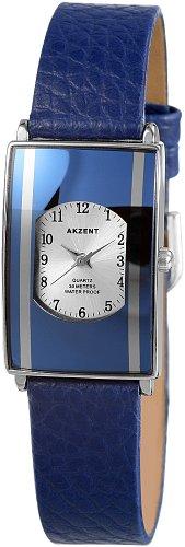 Akzent Damen Uhren mit Polyurethan Lederband SS7323000016