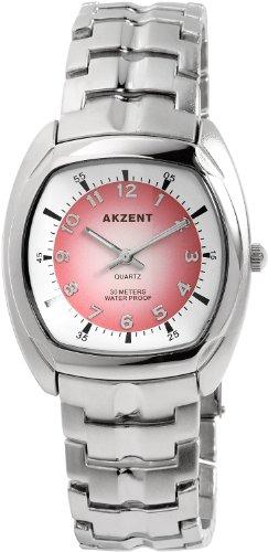 Akzent Herren Uhren mit Metallband SS7625000026