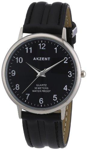 Akzent Herren Uhren mit Polyurethan Lederband SS7221000009