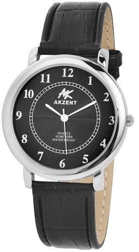 Akzent Herren Uhren mit Polyurethan Lederband SS7221000010