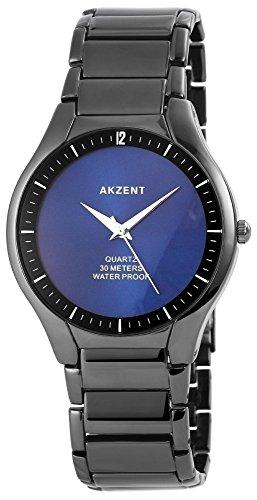 Akzent Herrenuhr mit Metallarmband Uhr SS7073200017