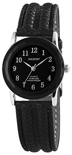 Armbanduhr Quarz Uhr Kunstlederarmband 22cm Dornschliesse SS7321000013