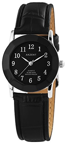 Armbanduhr Quarz Uhr Kunstlederarmband 22cm Dornschliesse SS7321000022