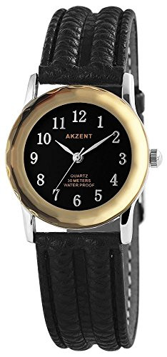 Armbanduhr Quarz Uhr Kunstlederarmband 22cm Dornschliesse SS7321100013