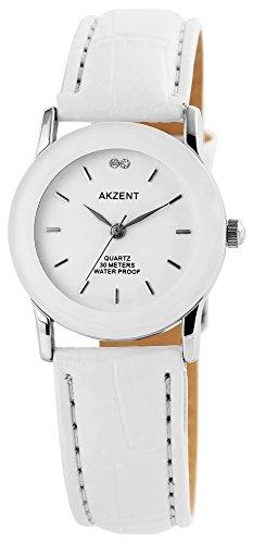 Armbanduhr Quarz Uhr Kunstlederarmband 22cm Dornschliesse SS7322000012