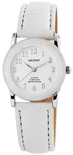 Armbanduhr Quarz Uhr Kunstlederarmband 22cm Dornschliesse SS7322000022