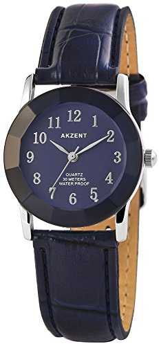 Armbanduhr Quarz Uhr Kunstlederarmband 22cm Dornschliesse SS7323000022
