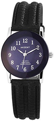 Armbanduhr Quarz Uhr Kunstlederarmband 22cm Dornschliesse SS7323000023