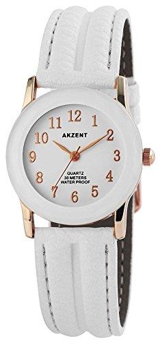 Armbanduhr Quarz Uhr Kunstlederarmband 22cm Dornschliesse SS7332000013