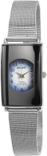 Akzent Damen-Uhren mit Metallband SS7123000015