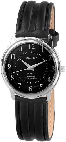 Akzent Herren-Uhren mit Polyurethan Lederband SS7221000030