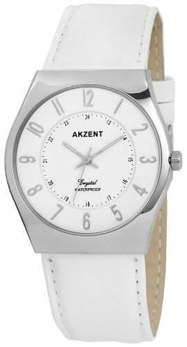 Akzent Herren-Uhren mit Polyurethan Lederband SS7222100013