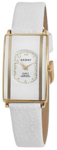 Akzent Damen-Uhren mit Polyurethan Lederband SS7302000016