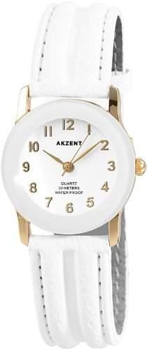 Akzent Damen-Uhren mit Polyurethan Lederband SS7302000023