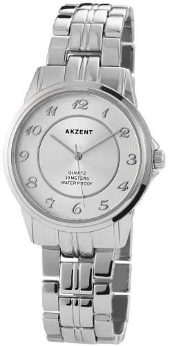 Akzent Unisex-Armbanduhr Analog Quarz verschiedene Materialien SS7422500040