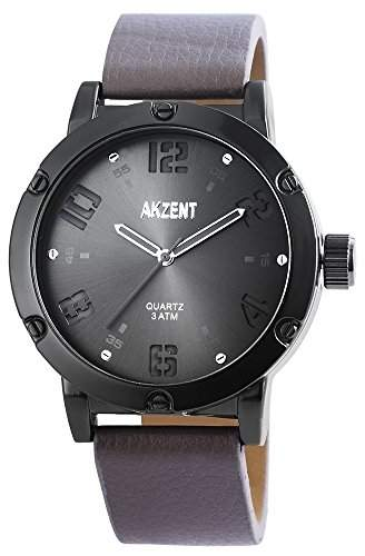 Akzent Herren-Armbanduhr Analog Quarz verschiedene Materialien SS7571600014