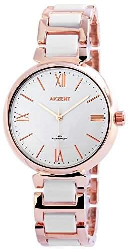 Akzent Damen-Armbanduhr Analog Quarz verschiedene Materialien SS7842000016