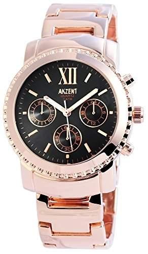 Akzent Damen-Armbanduhr Analog Quarz verschiedene Materialien SS8131500008